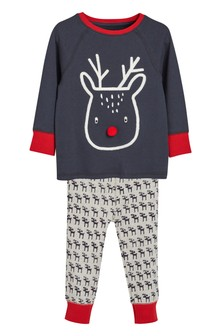 Reindeer Snuggle Fit Pyjamas (9mths-8yrs)