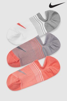 Nike Ladies Multi Footsie Socks Three Pack