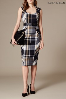 Karen Millen Multi Check Investment Dress