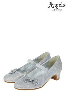 Angels by Accessorize Glitter Bow Flamenco Shoe