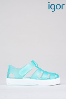 Igor Green Star Aquamarine Sandals
