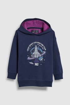 Space Graphic Hoody (3-16yrs)