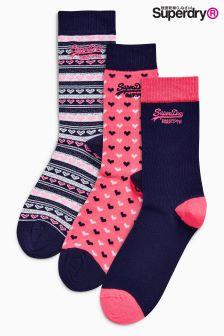 Socks Three Pack