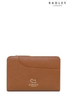 Radley London Tan Pockets Medium Zip Top Purse