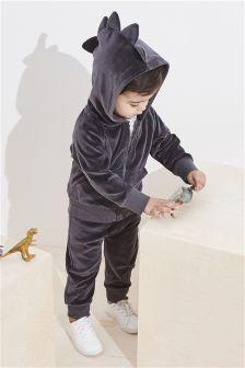 Tenue de survêtement Velour Dino Spike (3 mois - 6 ans)