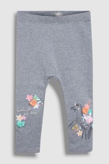 Unicorn Embellished Leggings (3mths-6yrs)