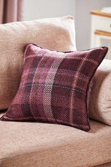 Dalton Woven Check Cushion