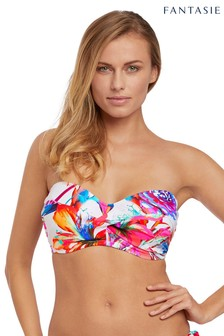 Fantasie Paradise Bay Tropical Twist Bandeau Bikini