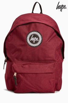 Hype. Burgundy Backpack