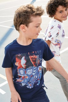 Dinosaur T-Shirts Two Pack (3-16yrs)