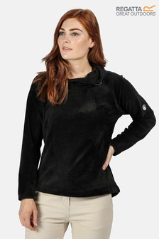 Regatta Kimberley Walsh Edit Halia Velour Overhead Half Zip Fleece Sweater