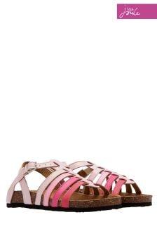 Joules Pink Mazey Sandal