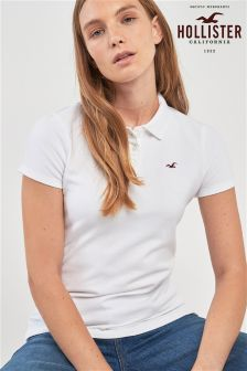 Hollister Small Logo Polo Tee