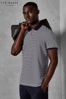 Ted Baker Gingen Stripe Polo