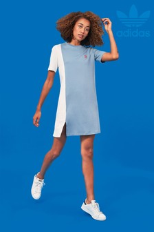adidas Originals Blue Tee Dress