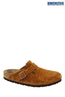 Birkenstock Mink Boston Clog Sandals