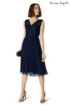 Phase Eight Navy Romy Tulle Dress