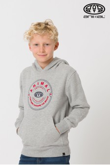 Animal Grey Prep Hoody