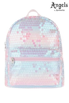 Angels by Accessorize Metallic Mermaid Sequin Mini Backpack