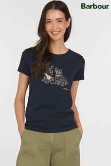 Barbour® Coastal Sketched Dog Highlands T-Shirt