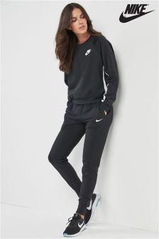 Nike Black Swoosh Jogger