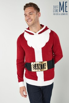 Mens Novelty Santa Jumper