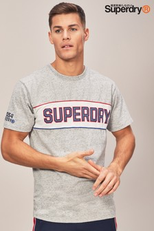 Superdry Grey Street Logo T-Shirt