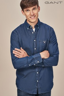 GANT The Indigo Regular Fit Shirt