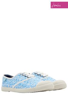 Joules Blue Geo Sunley Trainers