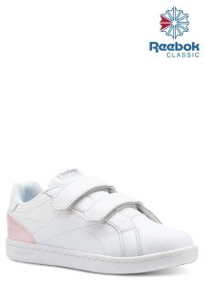 Reebok White Royal Velcro