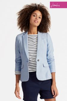Joules Light Blue Kira Blazer