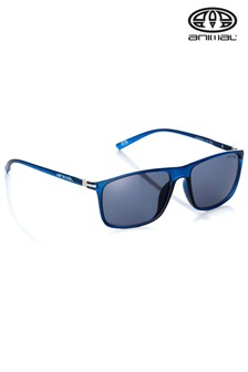 Animal Blue Oxidize II Square Frame Sunglasses