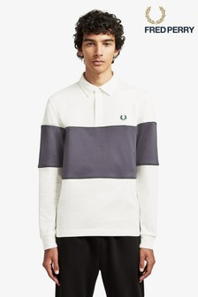 Fred Perry Panelled Poloshirt