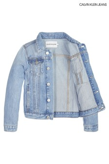 Calvin Klein Jeans Girls Brenton Denim Jacket