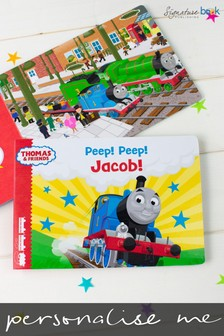 Personalised Thomas & Friends Board Book For Toddlers by Signature Book Publishing