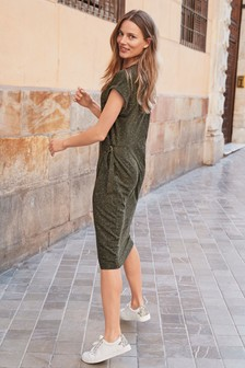 Wrap T-Shirt Dress