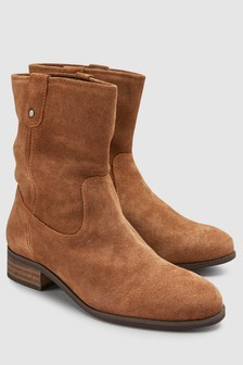 Stiefelette im Country-Look