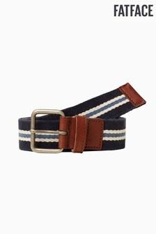 FatFace Blue Stripe Webbing Belt