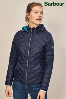 Barbour® Navy Pentle Quilt Jacket