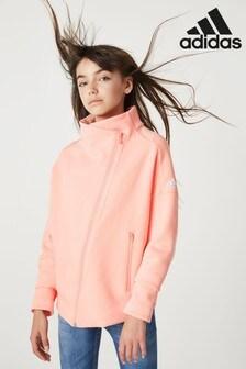 adidas Pink ID Full Zip Track Top