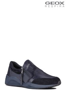 Geox Omaya Navy Slip-On Trainer