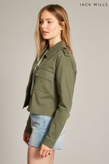 Jack Wills Olive Highbury Utility Jacket