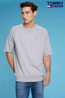 Tommy Jeans Grey Short Sleeve Sweatshirt