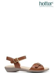 Hotter Tropic II Slim Fit Buckle Fastening Open Sandals