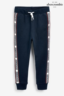 Abercrombie & Fitch Navy Tape Jogger