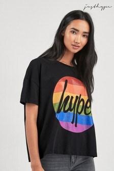 Hype. Circle Rainbow T-Shirt