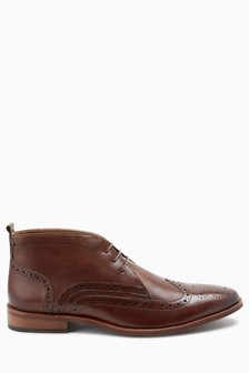 Brogue Chukka Boot