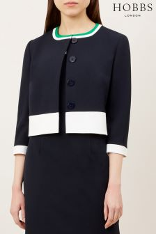 Hobbs Navy/Ivory Annabel Jacket