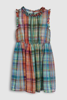 Soft Check Dress (3-16yrs)