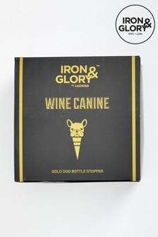 Iron & Glory Wine Canine Bottle Stopper